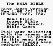 Play King James Bible Online